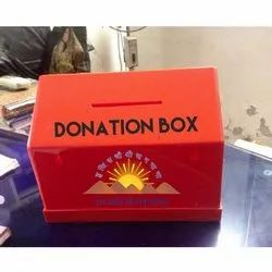 JIYA Hut Shape Donation Box