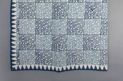 Cotton Geometric Quilt / Block Print Jaipuri Razai / Double Bed King Queen Twin / Single Bed Quilts.