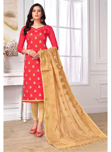 a7b2886e17 Cotton Designer Fancy Suit With Banarasi Dupatta, Rs 899 /piece | ID ...