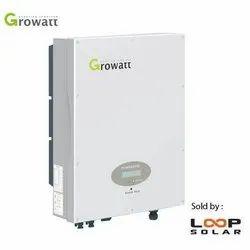 1 & 3 Phase Solar Grid Tie Inverter 1 To 80 Kw Growatt