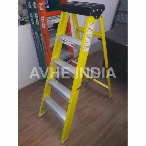 Manufacturer of Fibreglass Ladder & Fiber Ladder by AVHE INDIA, Delhi
