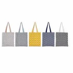 Loop Handle Designer Cotton Bag