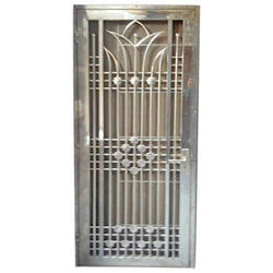 Stainless Steel Silver MS Safety Door
