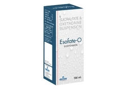 Esofate Suspension ( Sucralfate 1 mg )  Oxetacaine 20 mg
