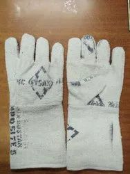 White Asbestos SPL Hand Gloves
