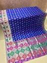 Banarasi Silk Weaving Saree with Heavy Rich Zari Pallu