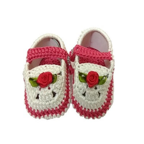 3d5b9f1c4 Baby First Step Baby Crochet Booties, Rs 150 /pair, Baby First Step ...