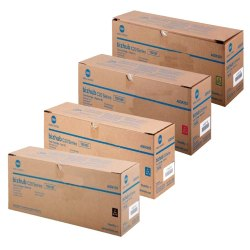 Konica Minolta TN-318 Laser Toner Cartridges 4 Colour