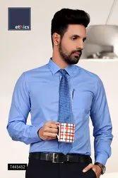 Blue Color Mens Uniform Shirt for Hospital Staff
