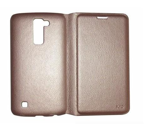 outlet store b0dd1 014e7 Lfclgk10gld Flip Cover For Lg K10 (beige)