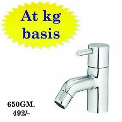 Sanya Brass CP Pillar Tap Flora, For Bathroom Fitting, Size (millimetre): 20mm