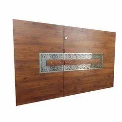 7 Feet Residential Wooden Gate