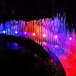 Adjustable Nozzles Sequential Dancing Fountains