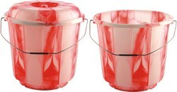 Double Plastic Bucket With and Without Lid