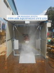 Semi Automatic Washing Booth