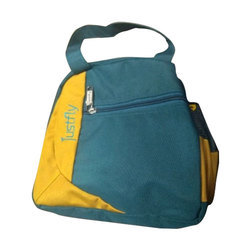 b618f3a1783 Yellow And Blue Polyester And Nylon Blend Office Purpose Lunch Bag