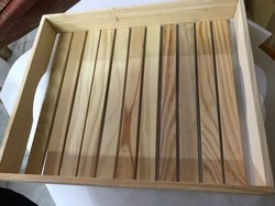 Pine Wood Tray 10x12