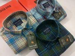Multicolor Cotton Men''s Shirt