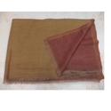 Fine Wool Cashmere Reversible Shawl