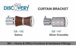 Damru Abc And Silver Crocodile Curtain Brackets