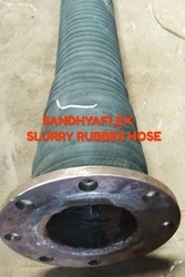 Oil Suction Rubber Hose With Flange Fitting