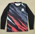 Ark Cricket Printed Full Sleeves Sports T Shirt, Size: S, M, L