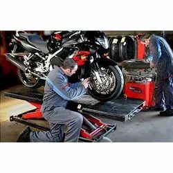 Bike Automobile Equipment For Repair And Maintenance Service