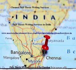 Chennai PhD Thesis Writing