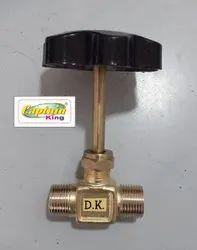 Brass LPG Long Spindle NC Valve 120 Gram
