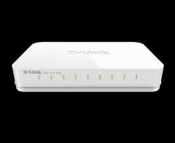 DLink 8-Port Gigabit Easy Unmanaged Switch GO-SW-8G