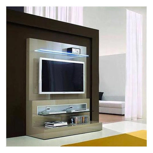 white tv lcd unit, rs 15000 piece, gurmukh timber \u0026 furniture idwhite tv lcd unit