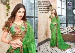 Rachna Georgette Simmie Catalog Saree Set For Woman 2