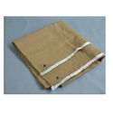 Dark Brown Plain Vermiculite Coated Ceramic Cloth, Use: Welding Heavy Duty Type
