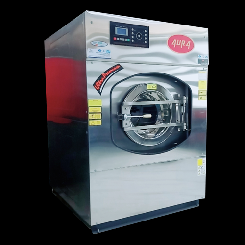 AURA 30 kg Industrial Washing Machines, Front Loading, | ID: 10204182155