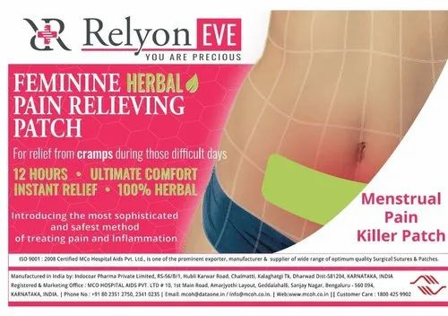 Relyon Eve Menstrual Pain Relief Transdermal Patch