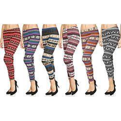 Slim Fit Printed Leggings