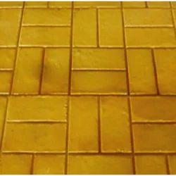 Brick Pattern Stamp Concrete Flooring