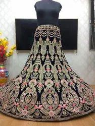 Pramukh Semi-Stitched Bollywood Lehenga, Dupatta Fabric: Net, Packaging Type: Polly Bag