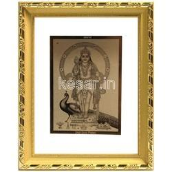 a194b6655492 24 Kt Gold Foil Peacock Frame at Rs 4000  piece