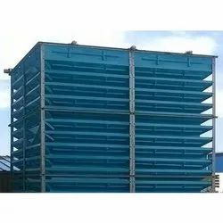 FRP Natural Draft Cooling Towers