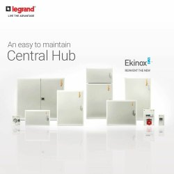 TPN DB Ekinox3 Metal Door 8 way 5076 72, IP Rating: IP43