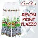 Ladies Printed Rayon Palazzo