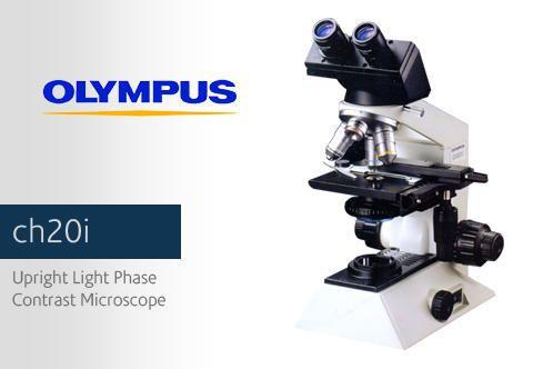 Research Microscopes Olympus Ch20i Binocular Microscope