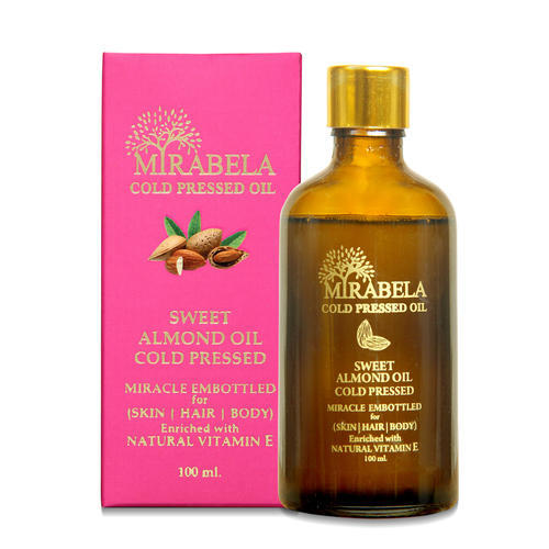 Cold Pressed Sweet Almond Oil Natural Pure Organic Unrefined