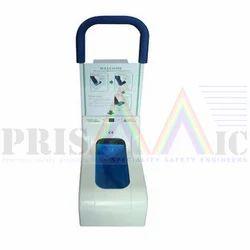 White Automatic Shoe Cover Dispenser
