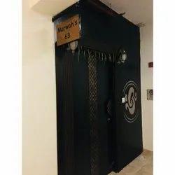 Solid Wood Designer Residence Wooden Door Service, Single