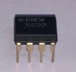 Operational Amplifier IC TLO72CP TI