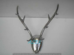 Aluminium Deer Skull Taxidermy