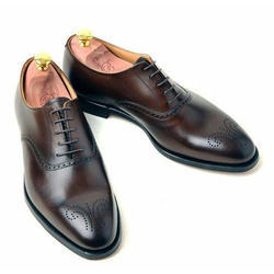 Trendy Leather Shoes, Size: 8 And 9