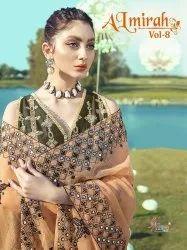 Shree Fabs Almirah Vol-8 Pakistani Style Heavy Suits Catalog